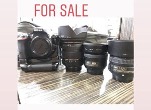 D5500 Nikon, 2.8 sigma 17-50, 50mm 1.8, 35mm 1.8 wiling to trade for Sale in Mulberry, FL