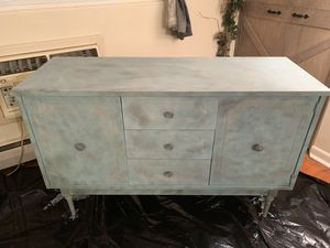 Hand painted original console / buffet table for Sale in Collingswood, NJ
