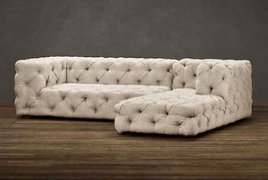 Modern tufted sectional sofa for Sale in Miami, FL