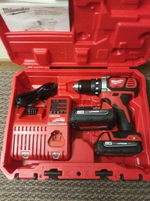 Milwaukee m18 1/2 compact drill kit for Sale in Vienna, VA