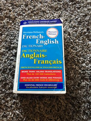 French English dictionary for Sale in Aurora, CO