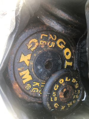 Golds gym weights for Sale in Winchester, CA
