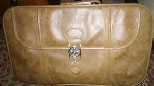 Tan Leather American Tourist Luggage Bag for Sale in Vestal, NY