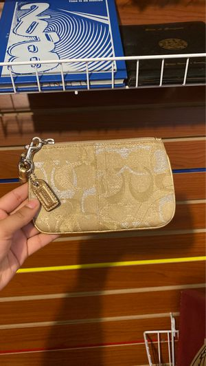 COACH Gold Wristlet for Sale in Adelphi, MD