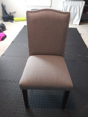Grey Tufted Chair for Sale in Menifee, CA