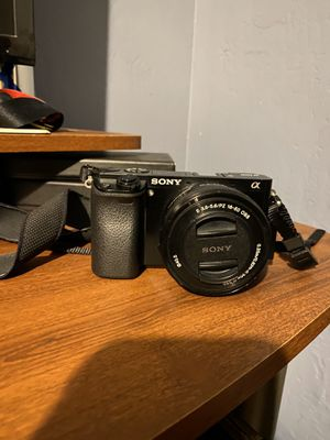 Sony a6000 Camera for Sale in Pumpkin Center, CA