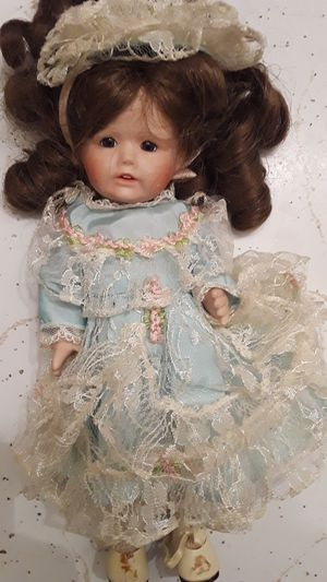 Antique Porcelain Doll for Sale in Seattle, WA