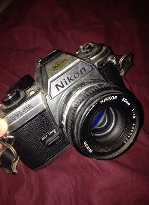 FG-20 Nikon camera with lens . for Sale in Cleveland, OH