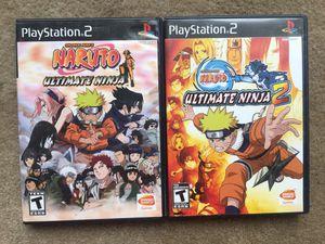 Naruto Ultimate Ninja 1 & 2 (PS2) for Sale in Oakton, VA