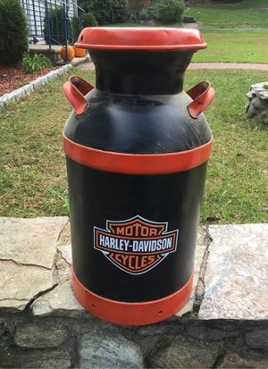 Harley Davidson milk can for Sale in Waterbury, CT