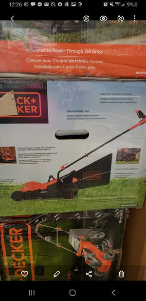 Black and decker lawn mower for Sale in Easley, SC