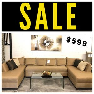 3PC Tan U Sectional 💥 for Sale in Miami Springs, FL