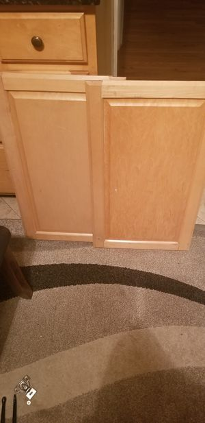 Solid wood Kitchen Cabinet Doors for Sale in Clifton, NJ