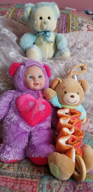 All Three For $15..Baby Stuffed Animals for Sale in Plantation, FL