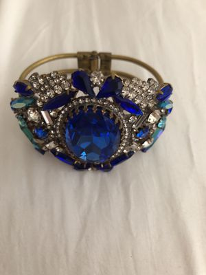 Vintage bracelet with crystals for Sale in New York, NY
