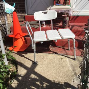 Extended shower chair for Sale in Bridgeport, CT