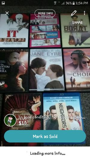 Lot of dvds for Sale in Loganton, PA