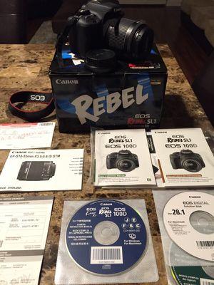 Canon Rebel SL1 for Sale in Miami, FL