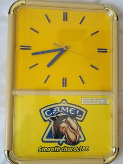 Clock, Collectible, Vintage Joe Camel for Sale in Vernon Hills, IL