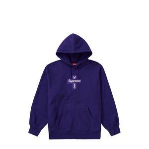Supreme Cross Box Logo Purple Medium for Sale in Seattle, WA