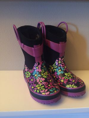 Western Chief Toddler Girls Rain Boots size 9/10 for Sale in Puyallup, WA