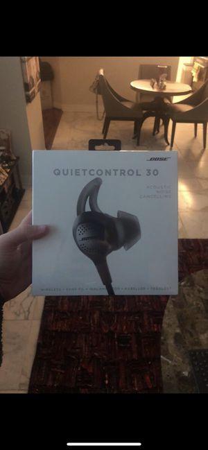 Bose Quiet Control 30 $250 brand new still in plastic for Sale in Philadelphia, PA