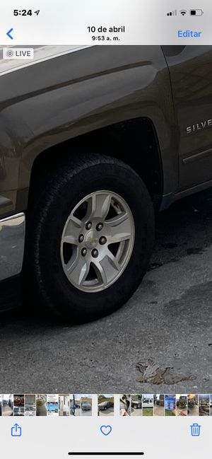Rims Chevy Silverado for Sale in Miami, FL