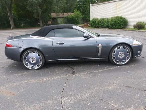 2007 Jaguar XK convertible custom wheels for Sale in