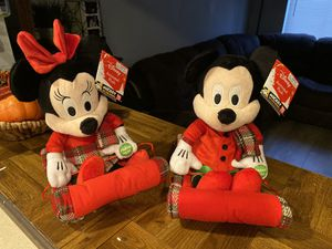 Minnie Mouse and Mickey Disney Animated Plush 90Years for Sale in Wilmington, CA