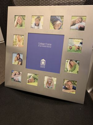 Photo collage frame for Sale in Apex, NC