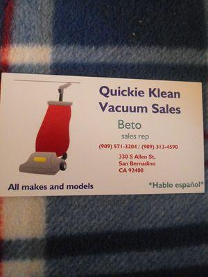 Vacuum Sales for Sale in Corona, CA