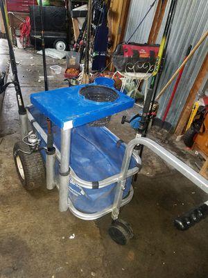 vendo carrito para la pesca cañas no incluidas for Sale in San Jose, CA