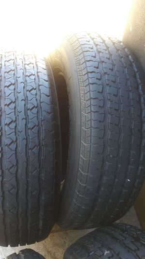 🚨 St 205-75-15 trailer used tires 🚨 for Sale in Riverside, CA