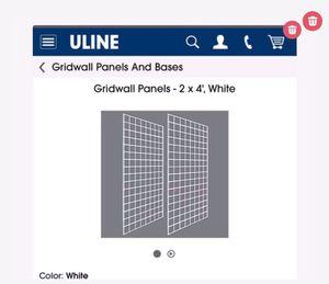 Grdwall panels white brand new for Sale in Naples, FL