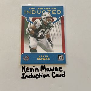 Kevin Mawae New York Jets Hall of Fame Center Donruss Induction Card. for Sale in San Jose, CA