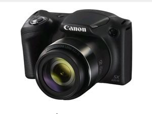 New Canon PowerShot SX420IS 20MP Digital Camera 42xOpticalZoom Black Wi-Fi W/M.32GB for Sale in Spring Valley, CA