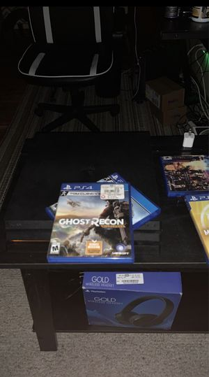PS4 Pro NBA 2k20, Mortal Kmbat 11, Kingdom Hearts, Ghost Recon Wildlands, Ghost Recon Breakpoint Star Wars Fallen Order.... for Sale in Cleveland, OH