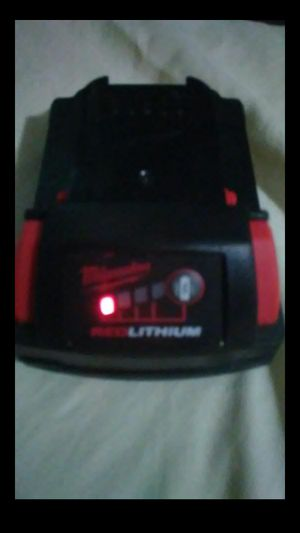 Milwaukee M18 redlithium CP 2.0 battery (brand new for Sale in Lithonia, GA