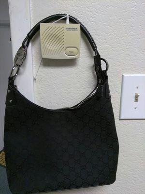 GUCCI SMALL CANVAS HOBO BAG. for Sale in Carrollton, TX