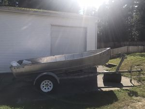 14 ft fishing boat for Sale in Bothell, WA