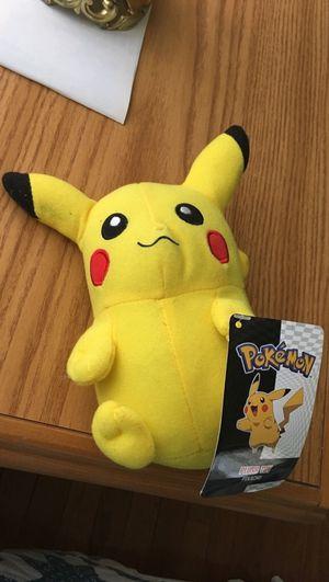 Pikachu Plushie for Sale in Fairfax, VA