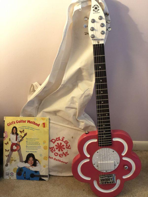 Daisy Rock Guitar - flower