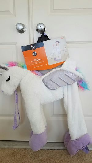 New Toddler unicorn pretend play girls clothes halloween costume for Sale in Rockville, MD