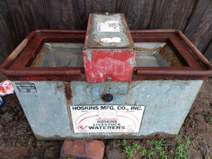 Hoskins livestock waterers for Sale in Canyon, TX