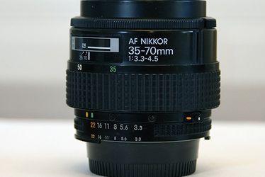 AF Nikkor 35-70mm 1:3.3-4.5 for Sale in Scottsdale,  AZ