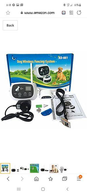 KD-611 Dog Wireless Fencing System for Sale in Acworth, GA