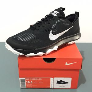 Nike FI Bermuda Mens Golf Shoes Sz 10.5 Wide New for Sale in Schaumburg, IL