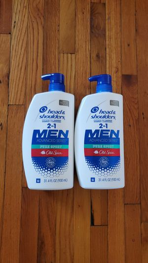 Head & Shoulders Men Old Spice scent $7 each 2 left for Sale in Riverside, CA