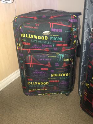 A trip around the world luggage! for Sale in San Diego, CA