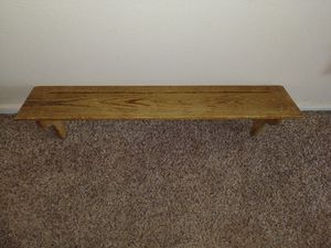2 wood shelves for Sale in Victorville, CA